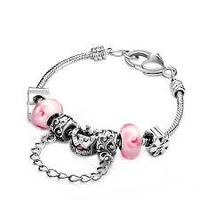 charm bracelet murano glass images 16 best pink pandora bracelet images pandora jpg