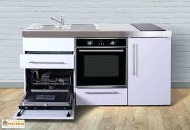 cuisine lave vaisselle en hauteur cuisine avec lave vaisselle mini cuisine avec frigo l v four et