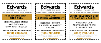 Iowa travel coupons images Edwards chevrolet cadillac service_coupons jpg