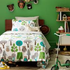 dwellstudio u0027s kids bedding owls sky duvet set
