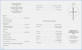 wedding reception program template 10 new christian wedding order of service template write happy