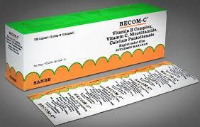 Obat Folac becom c kegunaan dosis efek sing mediskus