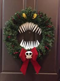 nightmare before christmas decorations nightmare before christmas wreath search pinteres
