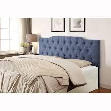 Full Size Upholstered Headboard by Top Full Size Upholstered Headboard Denim Blue Queenfull Size