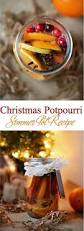 christmas potpourri simmer pot recipe natural air freshener