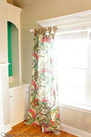 Easy Way To Hang Curtains Decorating How To Hang Curtain Rods On Windows With Decorative Molding