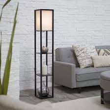 Adesso Floor L Adesso Lighting 3138 01 Wright Etagere Floor L Walmart