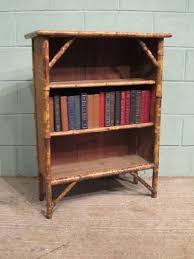 Rattan Bookcase Antique Edwardian Bamboo U0026 Rattan Bookcase C1900 W6729 9 1