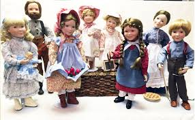 little house on the prairie porcelain dolls collection youtube