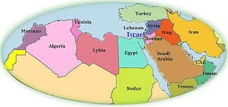 arab map israel and zionism maps the agency