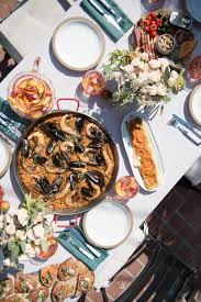 Dinner Party Ideas For 2016 Paella Party U2013 A Cozy Kitchen
