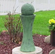 solar fountains with lights jeco pots water outdoor fountain with led light outdoor designs