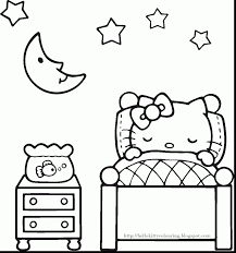 brilliant hello kitty valentines coloring pages with free hello