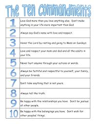 christian wall art ten commandments bible by littlelifedesigns
