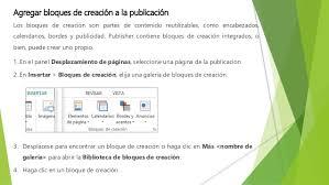 bordes para publisher tareas basicas de publisher