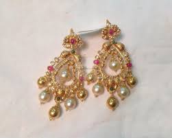earrings gold gold earrings gold rings 22kt chand bali diamond hoops