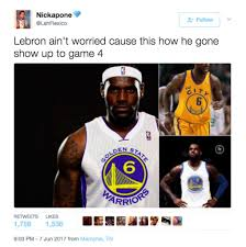 Nba Finals Meme - twitter lit up with memes after the warriors stunning game 3 win in