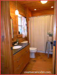 lighting change in the guest bath creative cain cabin