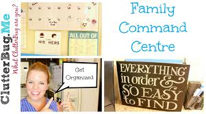 family organization family command centre back to organization youtube