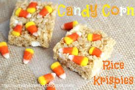kitchen simmer candy corn rice krispies