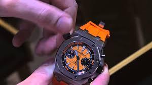 audemars piguet royal oak offshore diver chronograph watch hands