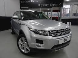 range rover hunter used land rover range rover evoque sd4 pure tech 2014 sheffield