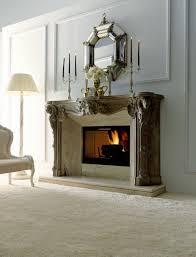 fireplace mirror binhminh decoration