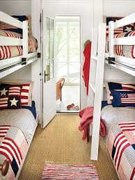 red and blue bedroom decorating with color red white and blue