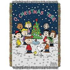 musical brown christmas tree home decor charles m schulz s snoopy s gallery gift shop