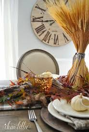 creative thanksgiving table decorations themontecristos
