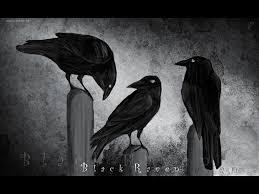 halloween raven background black and white raven wallpaper bird wallpapersafari