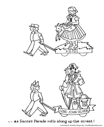 parade coloring pages childrens story parade