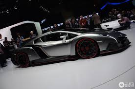 Lamborghini Veneno White - geneva 2013 lamborghini veneno