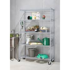 Metal Wire Storage Shelves Trinity Garage Storage Storage U0026 Organization The Home Depot