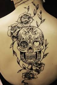 back sugar skull here s a simple back in black