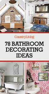 Ideas For Bathrooms Decorating 80 Best Bathroom Decorating Ideas Decor Design Inspirations