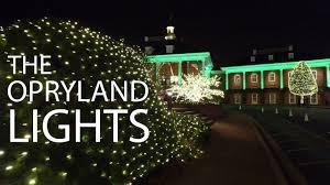 dji osmo opryland hotel christmas lights 4k youtube