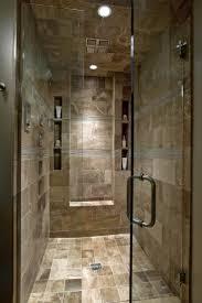 Stone Floor Bathroom - luxury walk in showers interior design