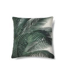coussin imprime coussin imprimé palmier baki hk living drawer