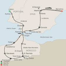 Granada Spain Map by Add Barcelona To This Spain Portugal U0026 Morocco Tour Globus