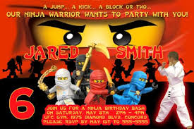 ninjago party supplies lego ninjago themed birthday party invitations and party supplies