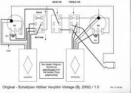 hofner 500 1 bass guitar schematic diagram