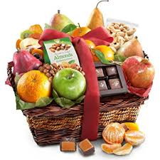 gourmet gift basket golden state fruit orchard delight and gourmet gift