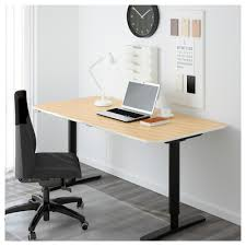 Ikea Office Desks For Home Bekant Desk Sit Stand Black Brown White Ikea