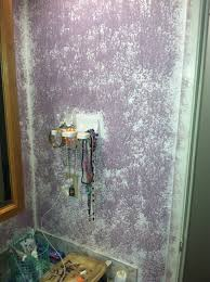 Bathroom Wall Painting Ideas Beautiful Purple Sponge Paint Bathroom Wall Becu Project
