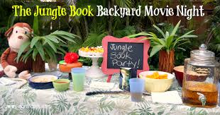 disney u0027s the jungle book backyard movie night junglebook cool