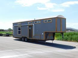 tiny house toy hauler rv a tiny house on wheels with a garage