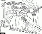 royal court throne room coloring printable game
