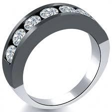 black gold rings images 2 10 carat natural diamond mens wedding band ring 14k black gold jpg