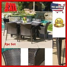 Patio Furniture Clearance Sale Free Shipping by Brown Wicker Patio Furniture Sets Clearance Lefemes Com